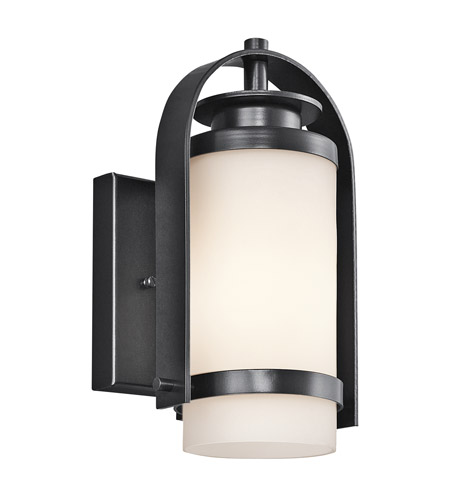 Kichler Lighting Westport 1 Light Outdoor Wall Lantern in Black 49313BK photo