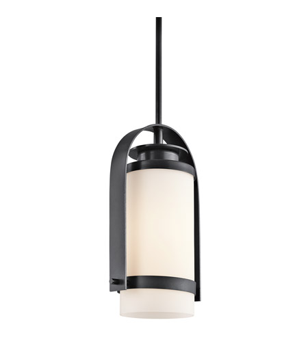 Kichler Lighting Westport 1 Light Outdoor Hanging in Black (Painted) 49316BK