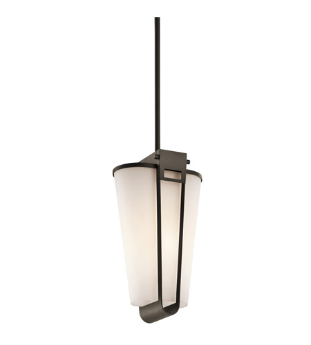 Kichler Lighting Coturri 1 Light Outdoor Pendant in Olde Bronze 49354OZ photo