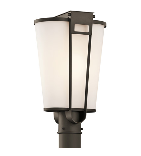 Kichler Lighting Coturri 1 Light Outdoor Post Lantern in Olde Bronze 49355OZ