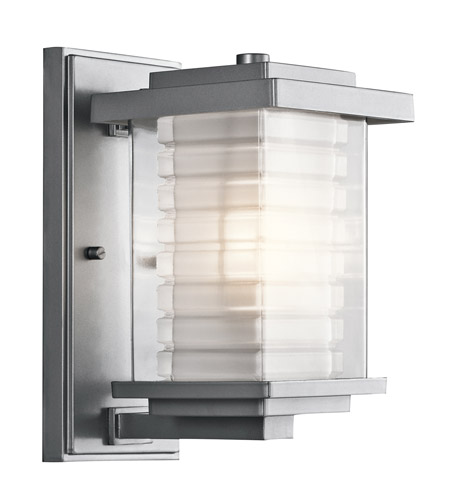 Kichler Lighting Ascari 1 Light Small Outdoor Wall Lantern in Platinum 49364PL photo
