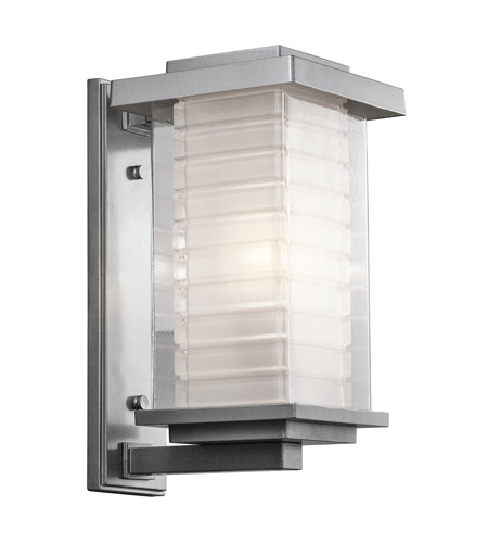 Kichler Lighting Ascari 1 Light Medium Outdoor Wall Lantern in Platinum 49366PL photo