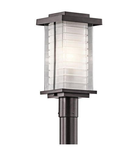Kichler Lighting Ascari 1 Light Post Lantern in Architectural Bronze 49367AZ