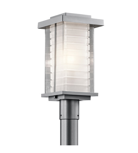 Kichler Lighting Ascari 1 Light Post Lantern in Platinum 49367PL