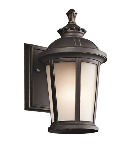 Kichler 49409RZ Ralston 1 Light 11 inch Rubbed Bronze Outdoor Wall Lantern photo