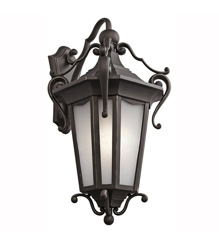 Kichler Lighting Nob Hill 1 Light Outdoor Wall Lantern in Rubbed Bronze 49420RZ photo