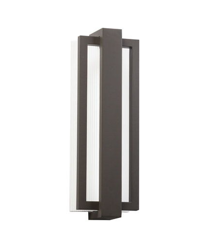 Kichler 49434AZ Sedo LED 18 inch Architectural Bronze Outdoor Wall - Small photo