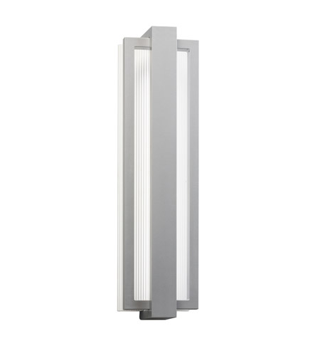 Kichler 49435PL Sedo LED 24 inch Platinum Outdoor Wall - Small photo
