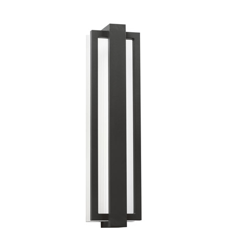 Kichler 49435SBK Sedo LED 24 inch Satin Black Outdoor Wall - Small photo