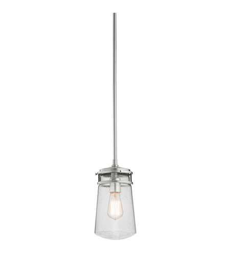 Kichler 49447BA Lyndon 1 Light 6 inch Brushed Aluminum Outdoor Hanging Pendant photo