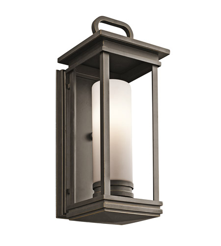 Kichler 49475RZ South Hope 1 Light 18 inch Olde Bronze Outdoor Wall Lantern in Standard photo