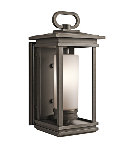 Kichler 49476RZ South Hope 1 Light 20 inch Rubbed Bronze Outdoor Wall Lantern in Standard photo