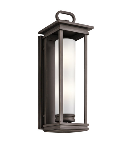 Kichler 49499RZ South Hope 2 Light 28 inch Rubbed Bronze Outdoor Wall Mount photo