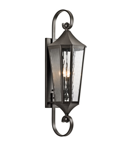 Kichler 49514OZ Rochdale 4 Light 40 inch Olde Bronze Outdoor Wall - Large photo