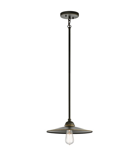 Kichler 49587OZ Westington 1 Light 12 inch Olde Bronze Outdoor Hanging Pendant photo