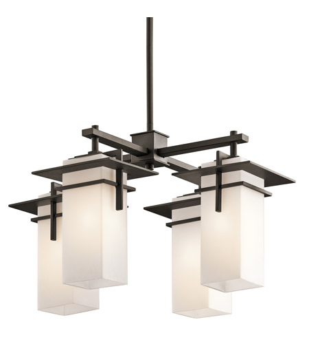 Kichler Lighting Caterham 4 Light Chandelier in Olde Bronze 49638OZ