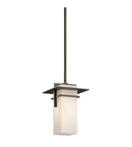 Kichler Lighting Caterham 1 Light Mini Pendant in Olde Bronze 49640OZ