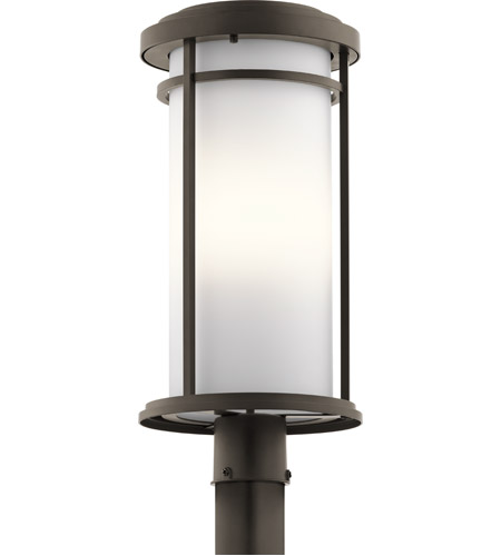 Kichler 49690oz toman 1 light 22 inch olde bronze outdoor post kichler 49690oz toman 1 light 22 inch olde bronze outdoor post lantern in standard aloadofball Gallery