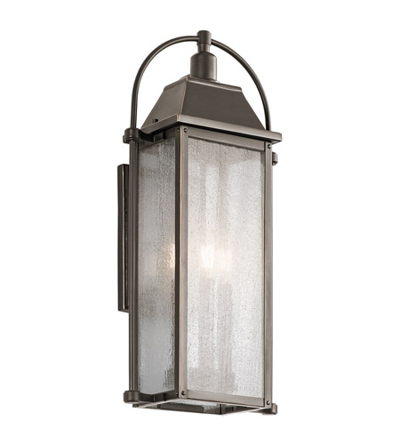 Kichler 49715OZ Harbor Row 3 Light 23 inch Olde Bronze Outdoor Wall Mount photo