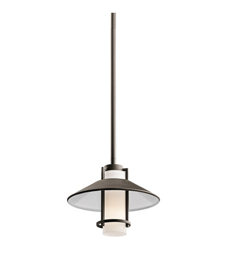 Kichler Lighting Tavistock 1 Light Outdoor Mini-Pendant in Olde Bronze 49813OZ