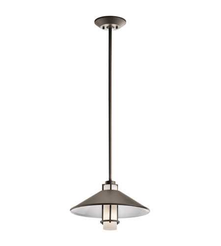 Kichler Lighting Tavistock 1 Light Outdoor Pendant in Olde Bronze 49814OZ photo