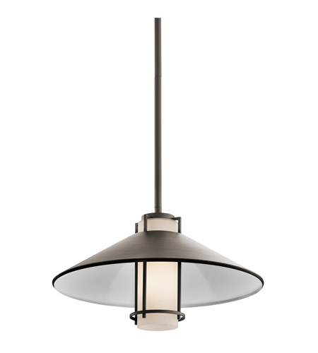 Kichler Lighting Tavistock 1 Light Outdoor Pendant in Olde Bronze 49815OZ