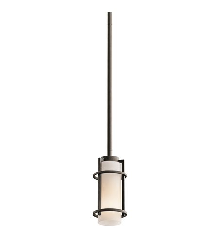 Kichler Lighting Tavistock 1 Light Outdoor Mini-Pendant in Olde Bronze 49816OZ