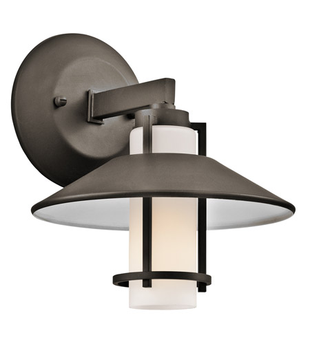 Kichler Lighting Tavistock 1 Light Outdoor Wall Lantern in Olde Bronze 49817OZ