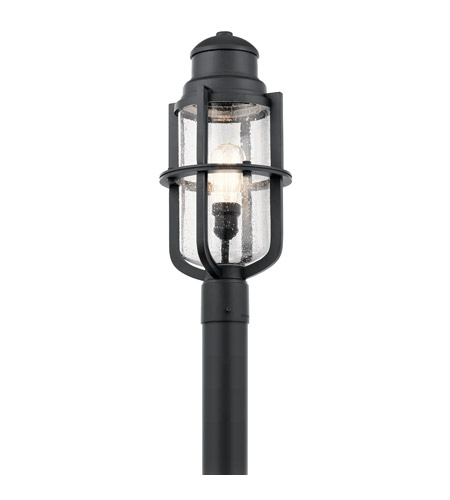 Kichler 49860bkt suri 1 light 20 inch textured black post light kichler 49860bkt suri 1 light 20 inch textured black post light photo aloadofball Gallery