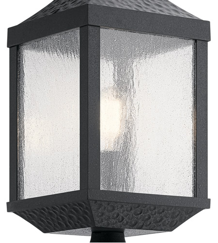 Kichler 49987DBK Springfield 1 Light 23 inch Distressed Black Outdoor Post Lantern alternative photo thumbnail