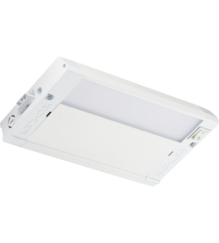 Kichler 4U27K08WHT 4U Series 120V 8 inch Textured White LED Under Cabinet Lighting in 8 in. photo