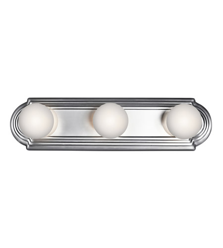 Kichler 5003CH Signature 3 Light 18 inch Chrome Bath Vanity Wall Light photo