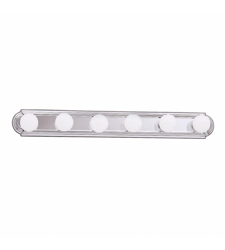 Kichler 5018CH Signature 6 Light 36 inch Chrome Bath Vanity Wall Light photo