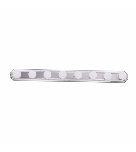 Kichler 5019CH Signature 8 Light 48 inch Chrome Bath Vanity Wall Light photo