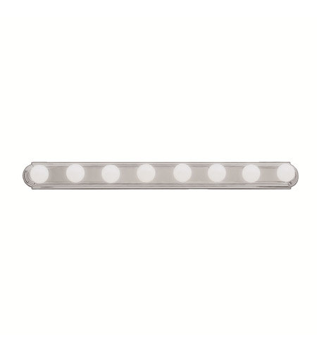 Kichler 5019NI Signature 8 Light 48 inch Brushed Nickel Bath Vanity Wall Light photo