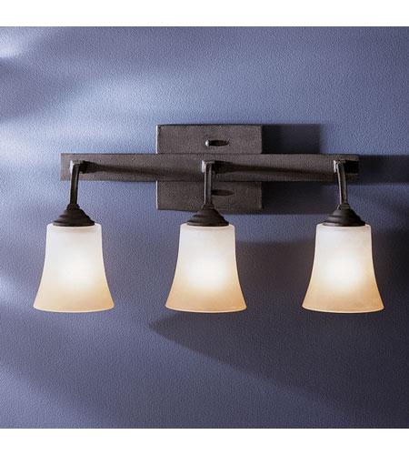 Bathroom Vanity Lights In Black : Kichler Lighting Meredith 3 Light Bath Vanity in Distressed Black 5037DBK