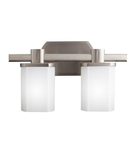 Kichler 5052NI Lege 2 Light 15 inch Brushed Nickel Bath Vanity Wall Light photo