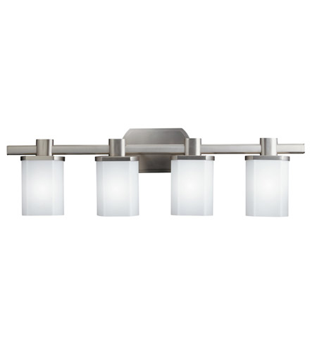 Kichler Lighting Lege 4 Light Bath Vanity in Brushed Nickel 5054NI photo