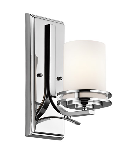Kichler Lighting Hendrik 1 Light Bath Vanity in Chrome 5076CH