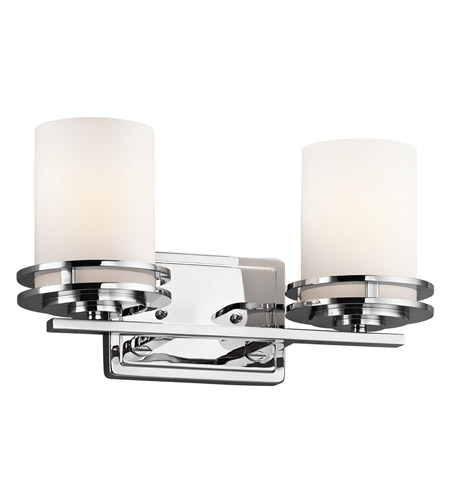 Kichler Lighting Hendrik 2 Light Bath Vanity in Chrome 5077CH photo