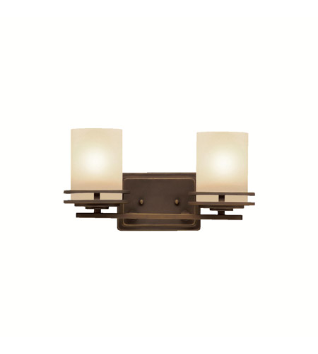 Kichler 5077OZ Hendrik 2 Light 15 inch Olde Bronze Bath Vanity Wall Light in Standard photo
