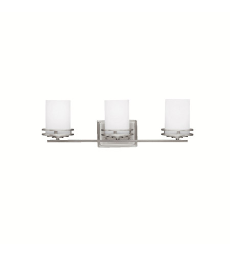 Kichler Lighting Hendrik 3 Light Bath Vanity in Brushed Nickel 5078NI