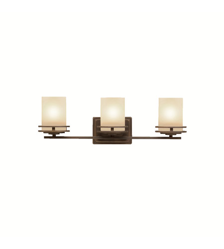 Kichler 5078OZ Hendrik 3 Light 24 inch Olde Bronze Bath Vanity Wall Light in Standard photo