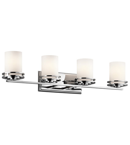 Kichler 5079CH Hendrik 4 Light 34 inch Chrome Bath Vanity Wall Light in Standard photo