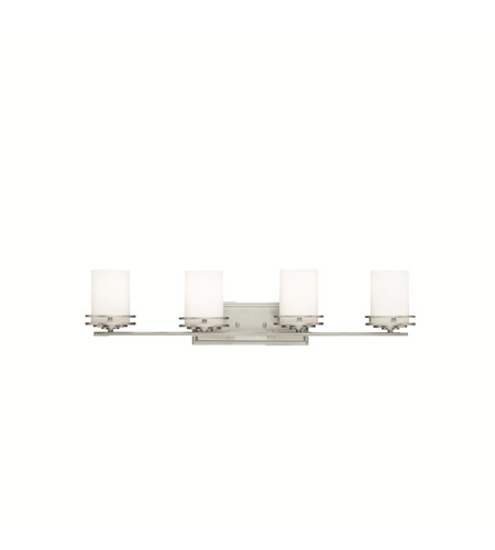 Kichler 5079NI Hendrik 4 Light 34 inch Brushed Nickel Bath Vanity ...