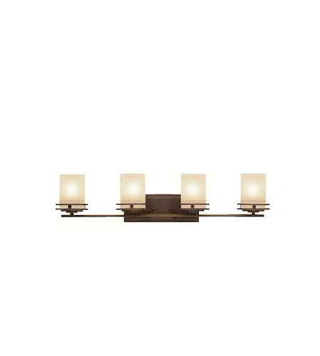 Kichler 5079OZ Hendrik 4 Light 34 inch Olde Bronze Bath Vanity Wall Light in Standard photo