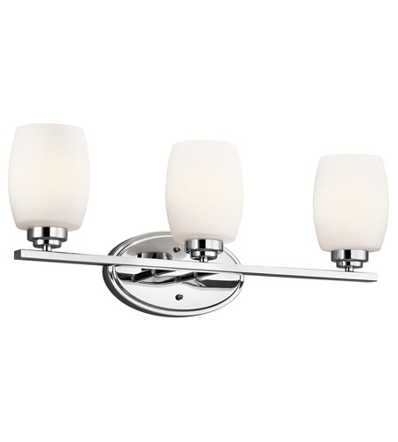 Kichler Lighting 3 Light Eileen Bath Vanity in Chrome 5098CH photo