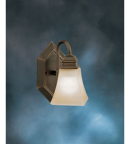 Kichler Lighting Polygon 1 Light Wall Sconce in Oiled Bronze 5101OLZ
