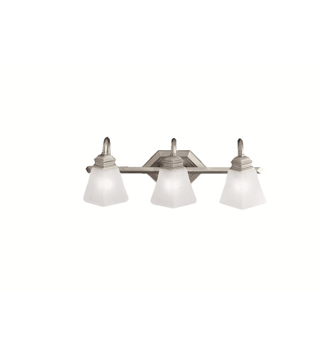 Kichler Lighting Polygon 3 Light Bath Vanity in Antique Pewter 5103AP photo