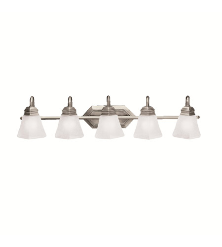 Kichler Lighting Polygon 5 Light Bath Vanity in Antique Pewter 5105AP